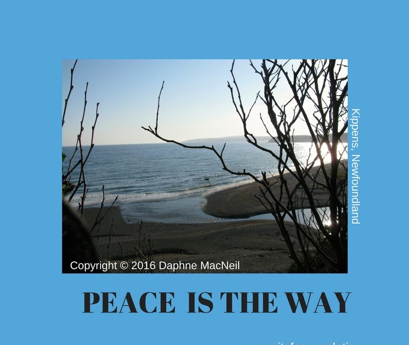 ITZ Monday's Inspiration™ – Peace is The Way