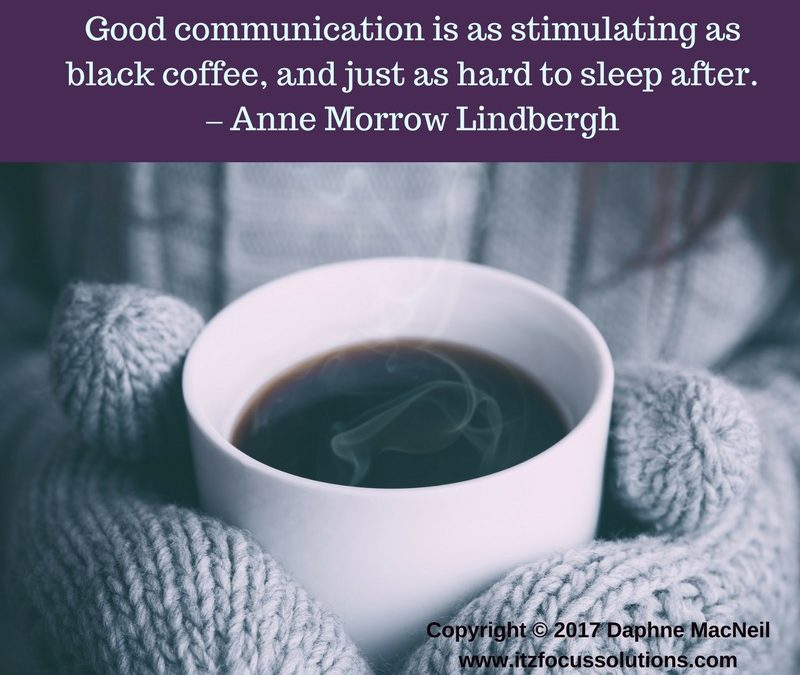 ITZ Monday's Inspiration™ – Communication